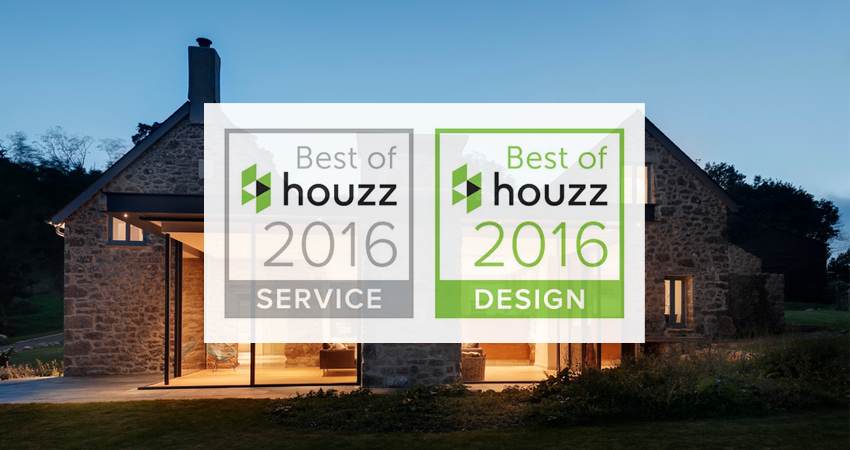 We Won The 'Best of Houzz 2016 – Client Satisfaction' Award